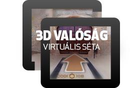 Virtuális 3D Séta